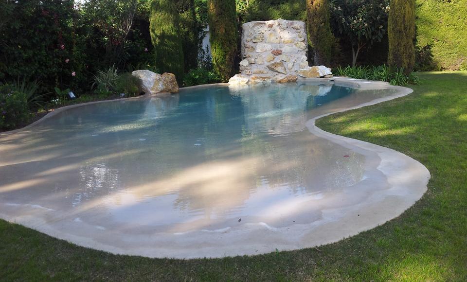 Water engineering inproyect for Piscinas de arena