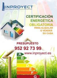 Certificado Energético de Inproyect en Benahavís