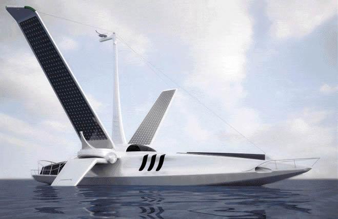 Mover un Yate con Energia Solar ya es posible