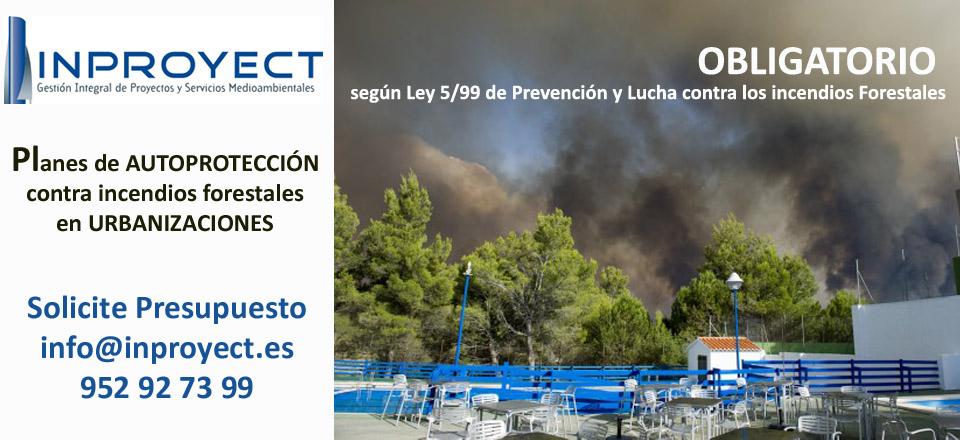 Los Planes de Autoproteccion Contraincendios forestales son obligatorios
