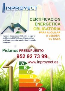 certificacido energetico ojen inproyect